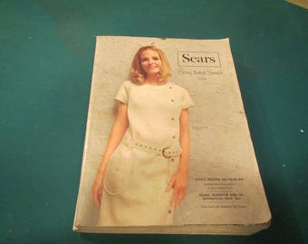 1968 ** Sears ** Spring and Summer Catalog  ** sj
