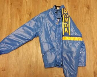 Vintage honda motorcycle jacket, hondaline, motorcycle jacket, dirt bike jacket, street bike jacket