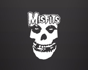 Misfits Decal - Punk Rock / Misfits Poster / Misfits / Band / Rock Art