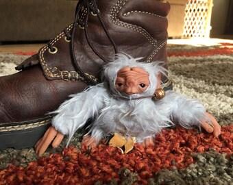 OOAK Shoe-troll Art Doll