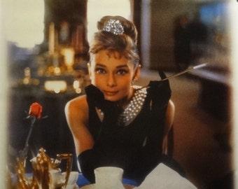 Audrey Hepburn 24x36 Breakfast At Tiffanys 1961 Movie Art Poster