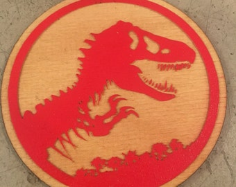 Jurassic Park Coasters! Set of 5! FREE SHIPPING!