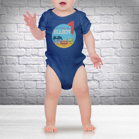 Big Block Singsong - Personalized Custom Baby One-Piece (one-sie) - Customizable Newborn / Infant Clothing