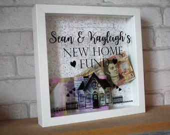 money box fund / money box frame / saving fund / new home fund / new home gift / new home saving fund / gift for new home / new home saving