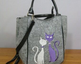 FELT BAG, cat bag