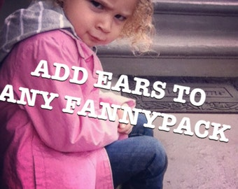 Add ears to any fannypack