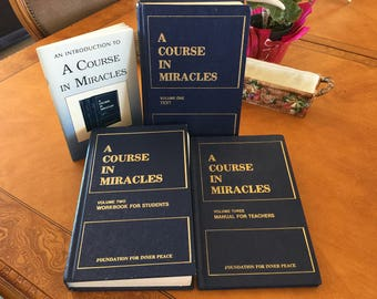 A Course in Miracles from the Foundation for Inner Peace