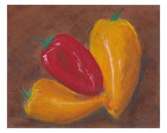 Sweet Peppers  - original artwork