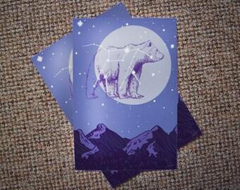 Ursa Major • Great Bear • A5 / A4 Print