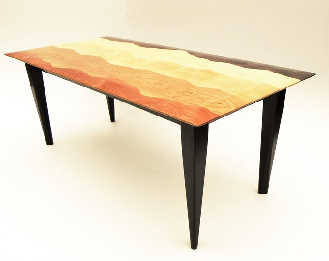Mountain view coffee table