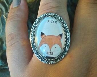 "Vintage ""Fox"" ring"