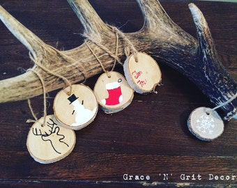 Christmas• Tree ornaments & gift tags