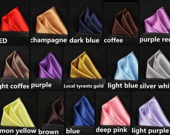 pocket squares, pocket silks, handkerchief, hankies, groomsman gift, father of the bride gift,
