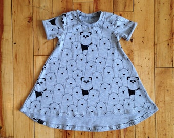 Dress shirt bears + Pandas