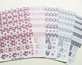 Planner Stickers - Spring Blossoms Washi