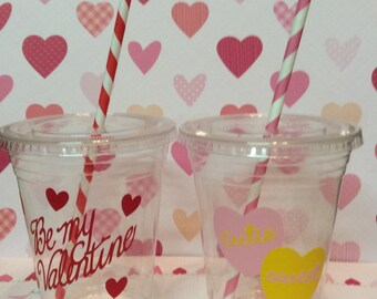 Valentines Party Cups