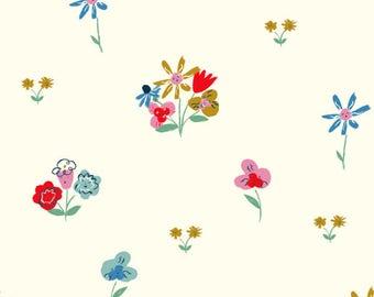 Golden Afternoon - Wonderland - Birch Fabrics - Organic Cotton - Poplin by the Yard