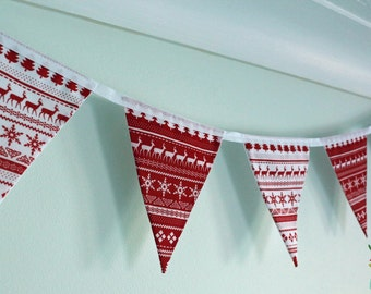 Nordic Christmas Bunting