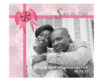 """Save The Date Magnets - 4"""" x 3.5"""""""