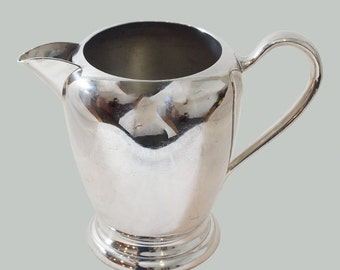 Vintage Silverplate Water Jug