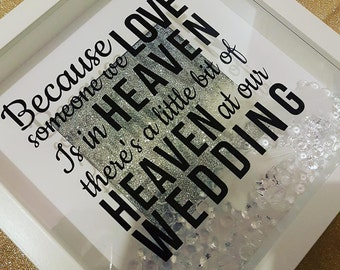 Heaven Wedding Frame