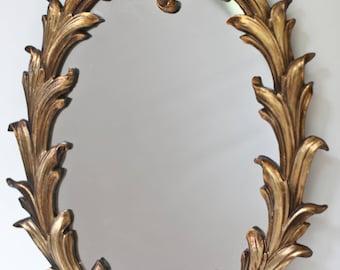 Oval SyrokoWood Mirror