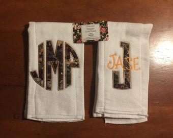 Camo Theme Burp Cloth Set of 2