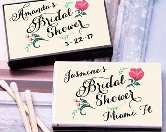 50 pcs Bridal Shower Personalized Matchboxes  (MIC-FJM273696-8)