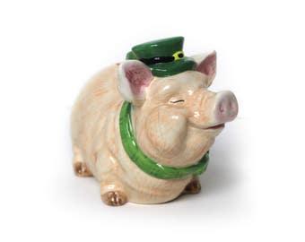 Vintage Irish Piggy Bank