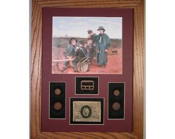 The Drummer Boys – Civil War Relics – U.S. Currency