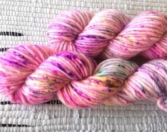 CARNIVALE   SQUISH   Super Bulky Single Ply   Hand Dyed Yarn   76yds   80% Superwash Merino / 20 Nylon