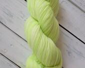 Highlighter - Fingering Sock Hand Dyed Yarn
