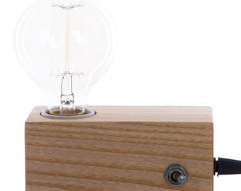 Wooden table lamp TM TL2