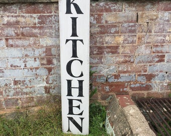 Kitchen Wall Decor, Kitchen Sign, Rustic Wood Sign, Kitchen Wall Art, Farmhouse Style, Farmers Market Style, Rustic Wood Art, Kitchen Art