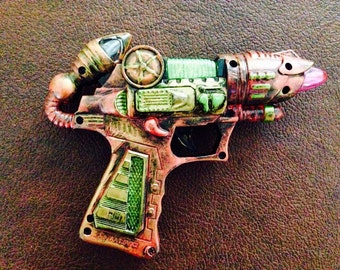 Pink and Green Ray Gun