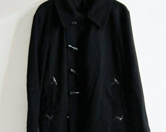 Y's Yohji Yamamoto Wool Duffle Coat