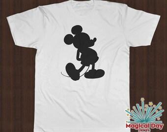 Disney Shirts - Mickey Mouse (Black Design)