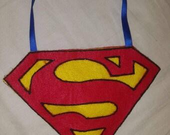 Custom handmade Superman candy bags