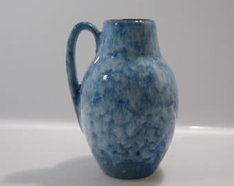 Cute little vase by Scheurich 414-16 West German Pottery - Fat Lava -WGP