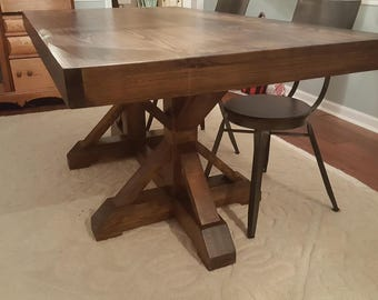 Belgian Trestle Dining Table