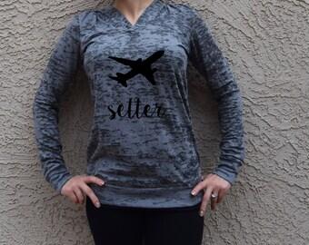 Jet Setter Sweater . Jet Setter Shirt . Road Trip Shirt .  #Jetsetter Jetsetter Hoodie. Travel Sweatshirt. Travel Hoodie.