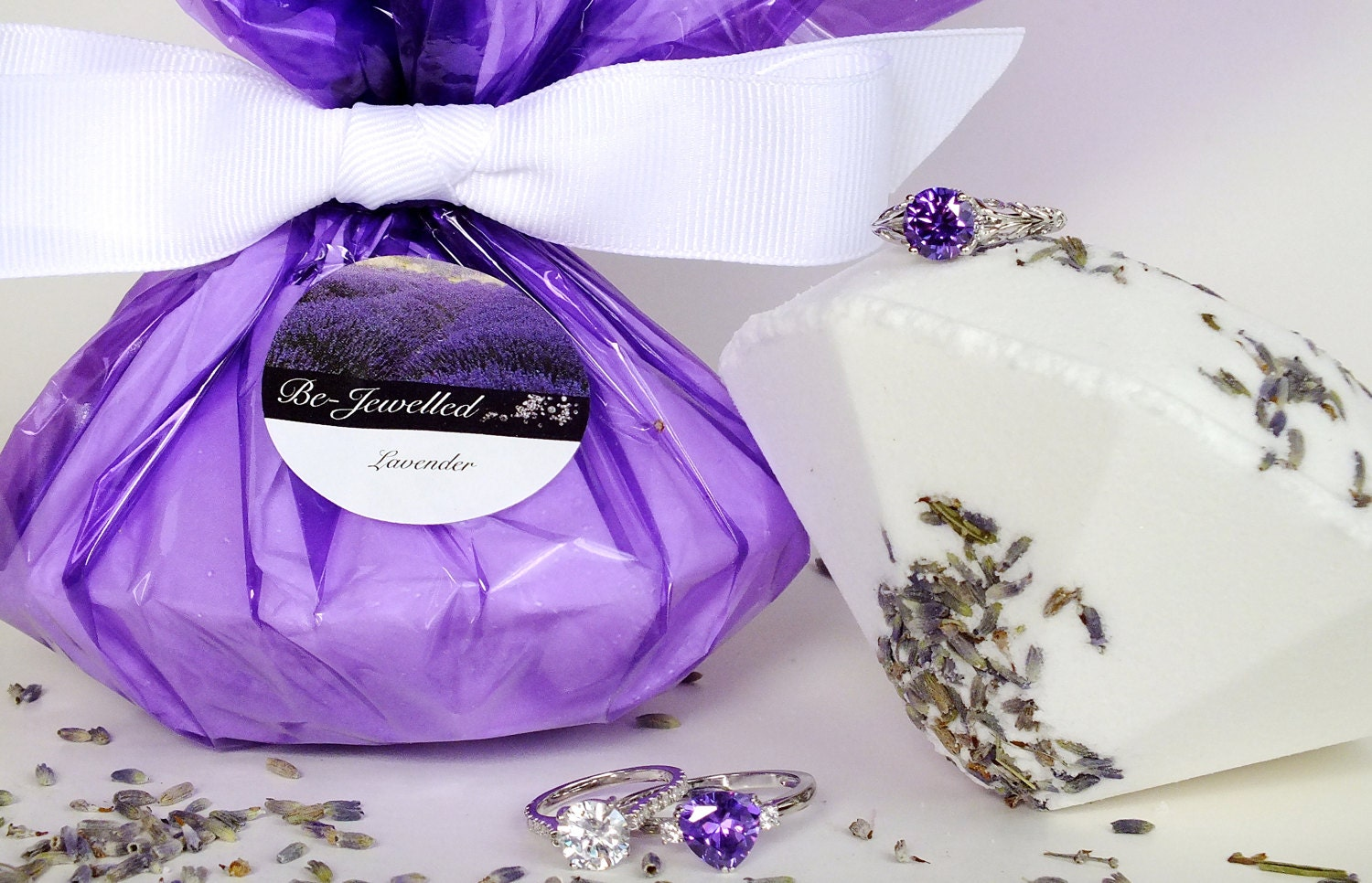 bath bombs with jewelry jumbo jewelry shaped lavender bath bomb with dried 4226