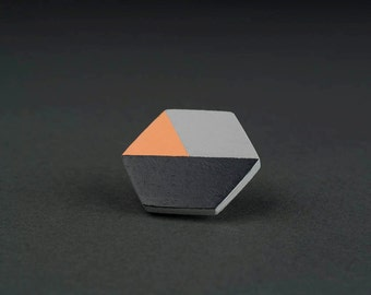 Pin melon | grey