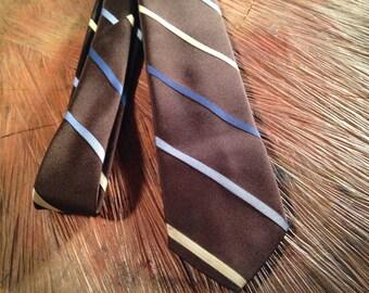 Vintage/ Don Loper Beverly Hills/ tie/ 70s/ 80s/ designer/ vintage /mens vintage/ groom/ mens gift