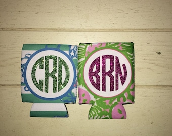 Monogrammed Can Coolers