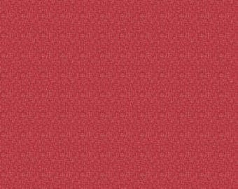 Small Hashtag in Red from Riley Blake, Cotton Fabric, Choose the Cut, C110-RED