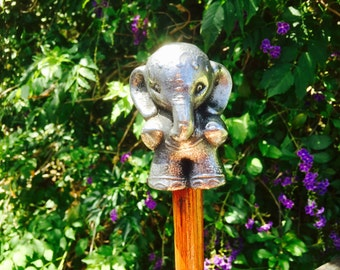 Walking Stick,Decorated Indian Elephant