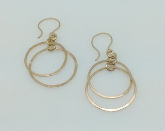 Orbitz 14k gold fill earrings