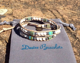 DB Double Wrap Bracelet