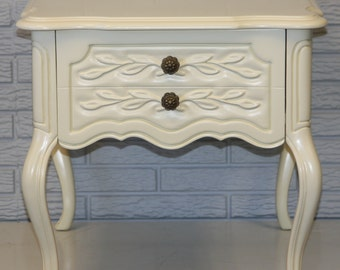 Drexel French Nightstand